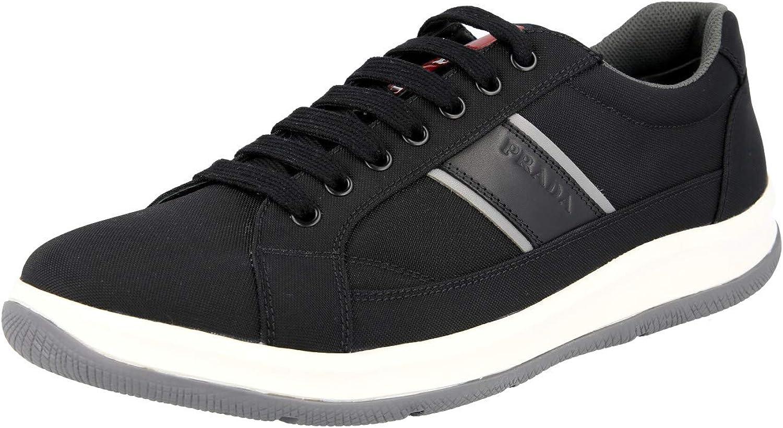 Prada Prada Prada Herren 4E2987 0Q6 F0967 Sneaker aus Stoff B07NZSCZ62  60992f