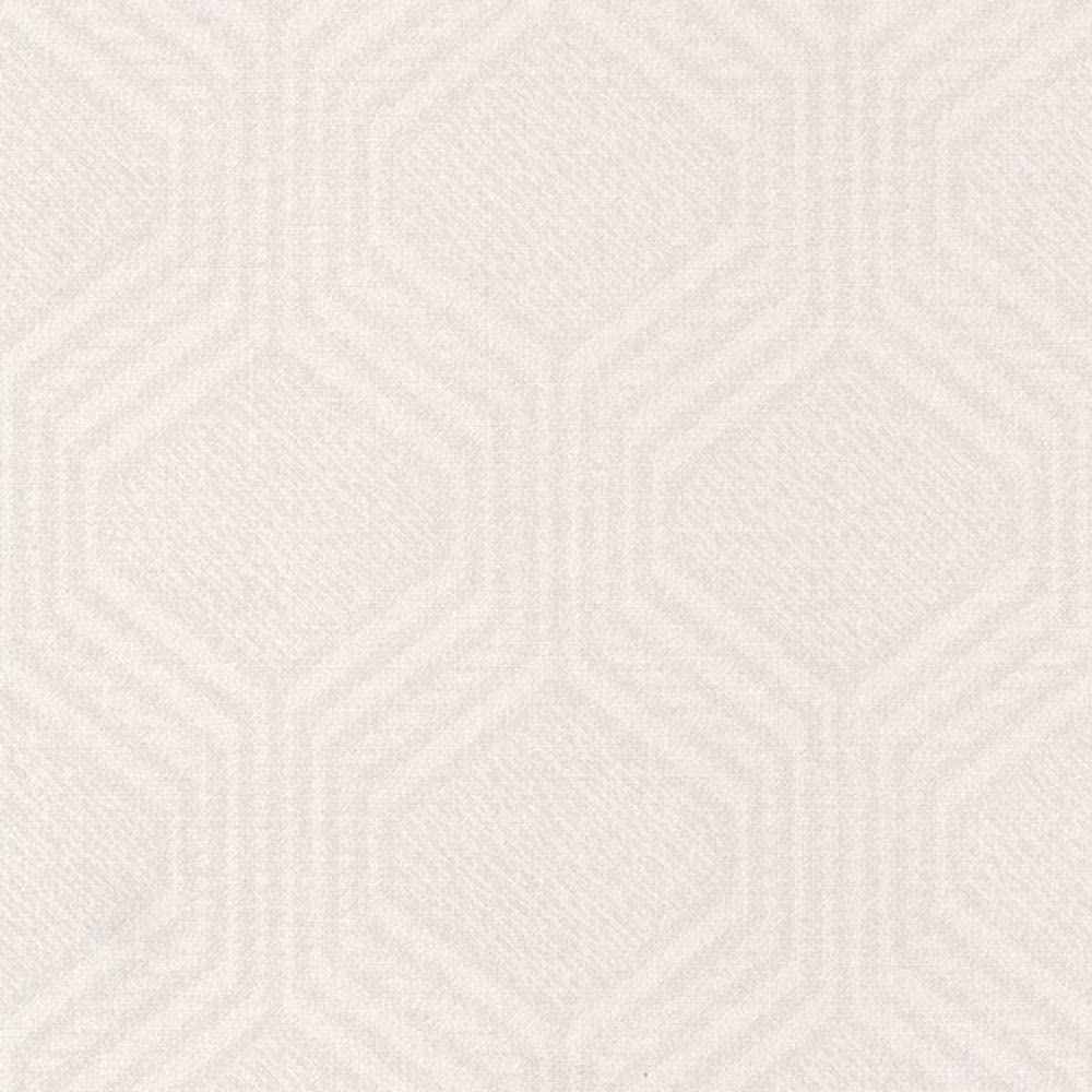 82550121 All stores are sold - Home Sweet White Wallpaper Geometric Max 79% OFF Casadeco