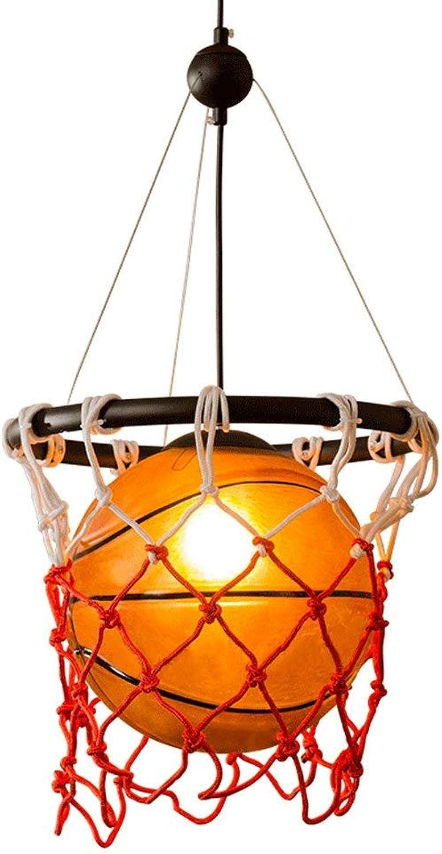 Net Basketball Braid Diy Kronleuchter Glas Retro Deco Art