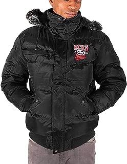 Marc Ecko Ecko Mens Boys Reventon Short Parka Warm Winter Hooded Jacket Hip Hop