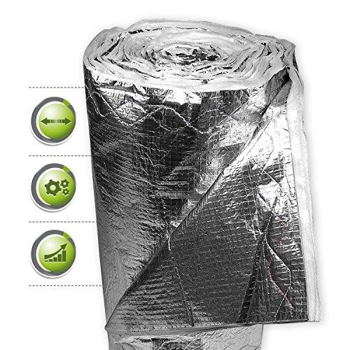 ISUM Dämmfolie MF 14 I Folie für Innendämmung + Außendämmung I Dämmmaterial für Wärmedämmung, Dachdämmung, Fassadendämmung & Bodendämmung I Altbausanierung geeignet I 12 m²