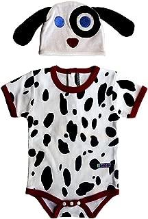 Sozo Baby Dalmatian Bodysuit and Hat Set