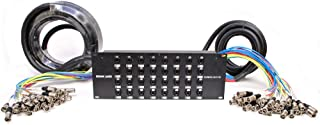Seismic Audio - SARMSS-32x1530 - 32 Channel XLR TRS Combo Splitter Snake Cable - 15' and 30' XLR trunks