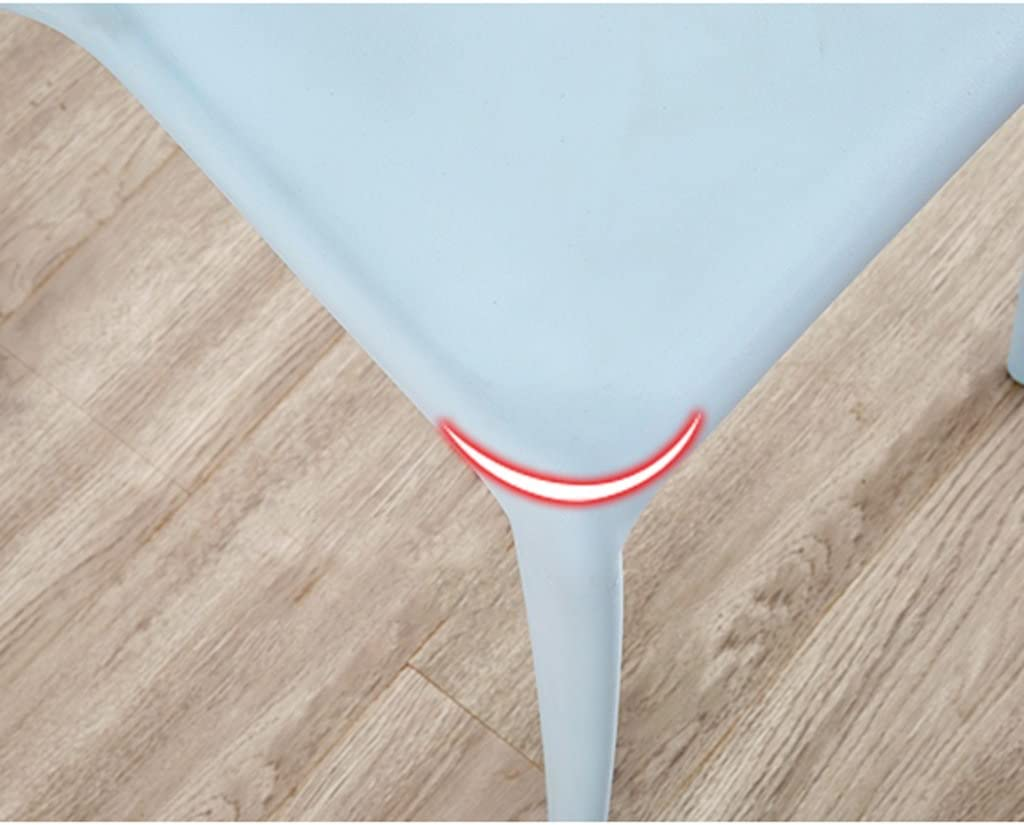 SLL- Tabouret en Plastique épaississement Adulte dinant la Chaise Moderne (Color : D) B
