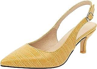Zanpa Women Fashion Pumps Kitten Heels