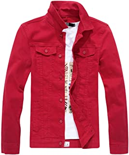 adb5abd239f Amazon.com  Reds - Denim   Lightweight Jackets  Clothing