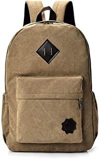 Mens Bag Fashian Canvas backpack unisex leisure travel bag large capacity bag High capacity