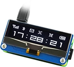 Waveshare 2.23inch OLED Display HAT for Raspberry Pi 128×32 Pixels with Embedded SSD1305 Driver Communicating via SPI or I2C Interface.