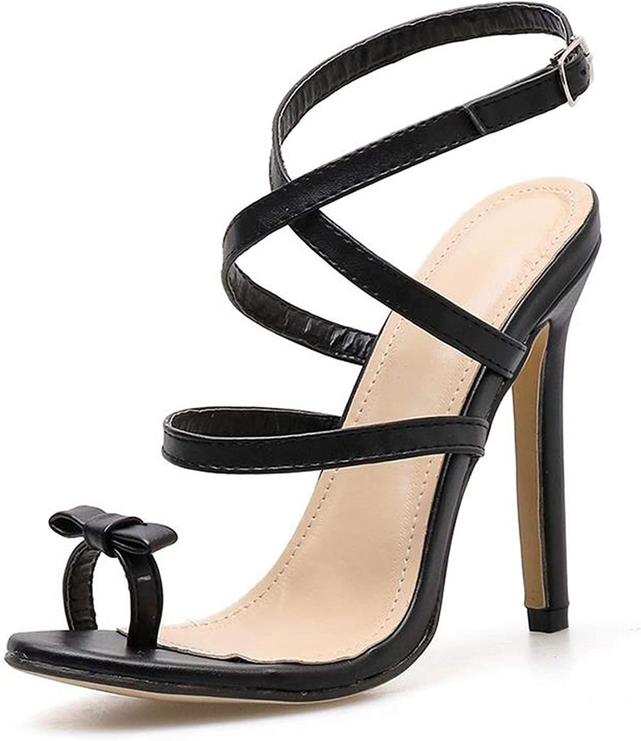 April With You Summer Women High Heel shoes Strap Ankle Wrap OL Stiletto Sexy Pump Party Office & Career shoes
