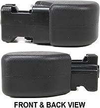 Bumper End for Jeep Wrangler 97-06 Front Plastic Right Side Primed