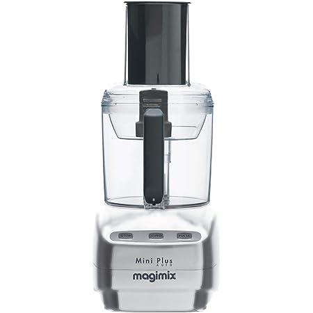 Magimix 148393Mini Plus Robot de cuisine Chromé mat