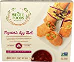 Whole Foods Market, Vegetable Egg Rolls, 12 oz, (Frozen)