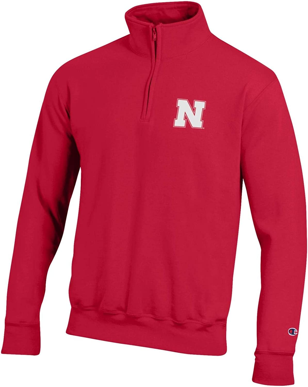 Virginia Beach Mall Champion NCAA Men's Powerblend Cotton-Poly 1 4 Pullover Zip Time sale