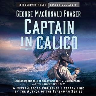 Captain in Calico audiobook cover art