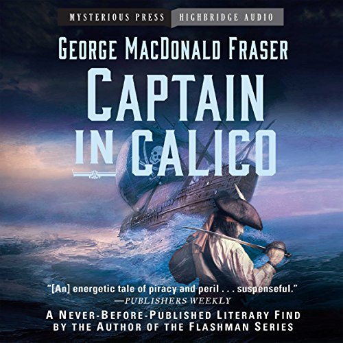 Captain in Calico audiobook cover art