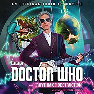 Doctor Who: Rhythm of Destruction audiobook cover art