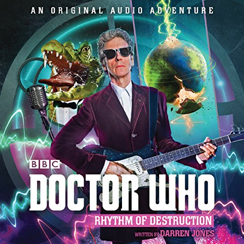『Doctor Who: Rhythm of Destruction』のカバーアート