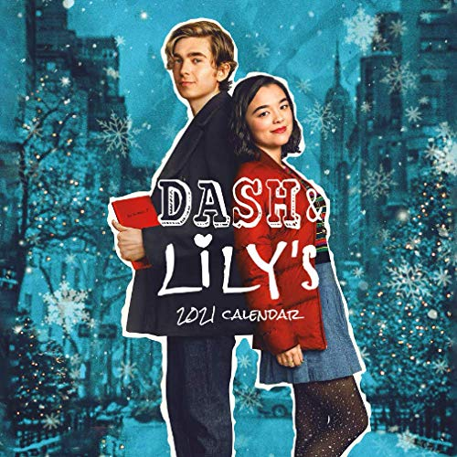 DASH & LILY'S: Mini size 7''x7'' Calendar 2021 with your favourite TV show!!!