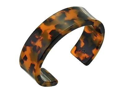 J.Crew Mambo Acetate Cuff Bracelet (Tortoise) Bracelet