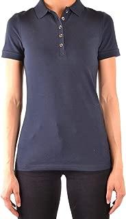 Luxury Fashion Womens MCBI38241 Blue Polo Shirt | Season Outlet