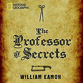 The Professor of Secrets audiobook cover art
