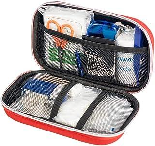 AOLVO Botiquín de Primeros Auxilios de 177 Pcs Artículos Indispensables, Adecuado para Coche, Casa, Picnic, Camping, Viajes y Otras Actividades Deportivas
