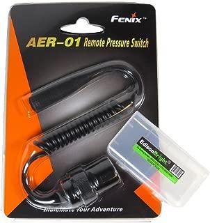 EdisonBright Fenix AER-01 Remote Pressure Switch BBX3 Battery Carry case for TK22 TK15C TK15UE TK09 PD35 UC35 AER01 AR102