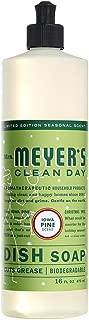 Mrs. Meyer´s Clean Day Dish Soap, Iowa Pine, 16 oz (Pack - 1)