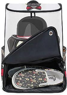 MONTOJ Bulldog - Mochila de Senderismo con Tapa y Compartimento para Ordenador portátil y Mochila de Camping