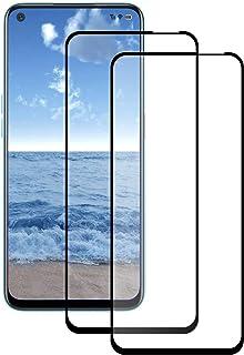 LPCJ [2-pack] för Realme 7 skärmskydd, Realme 7 härdat glas skärmskydd, skärmfilm för Realme 7 smartphone