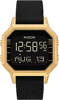 Women's Siren SS Digital Watch Gold Black Leila Hurst 36mm