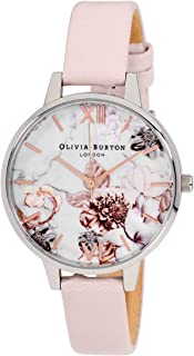 Marble Florals Quartz Movement Multi-Color Dial Ladies Watch OB16CS21