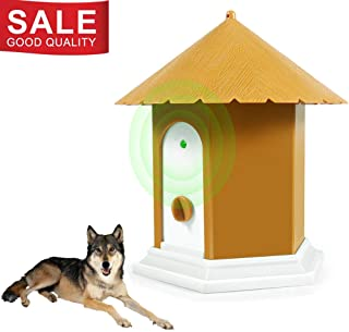 Clever sprouts Ultrasonic Anti Barking Device, Stop Barking Dog Device,100% Harmless Ultrasonic Bark Control and Waterproof Stop Dog Barking Device,Indoor Outdoor, Hidden Anti-Barking Device