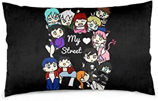 Hidreamaa Aphmau My Street Throw Pillow Covers Decorative Outdoor Cushion Cover Home Decor Pillow Case