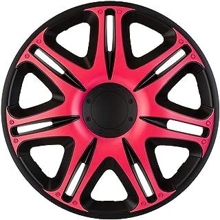 J-Tec J15573 Set Wheel Covers Nascar 15-inch Black/Pink