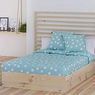 Color Azul Cama 90 Cm Edred/ón Ajustable Vigo Confecciones Paula