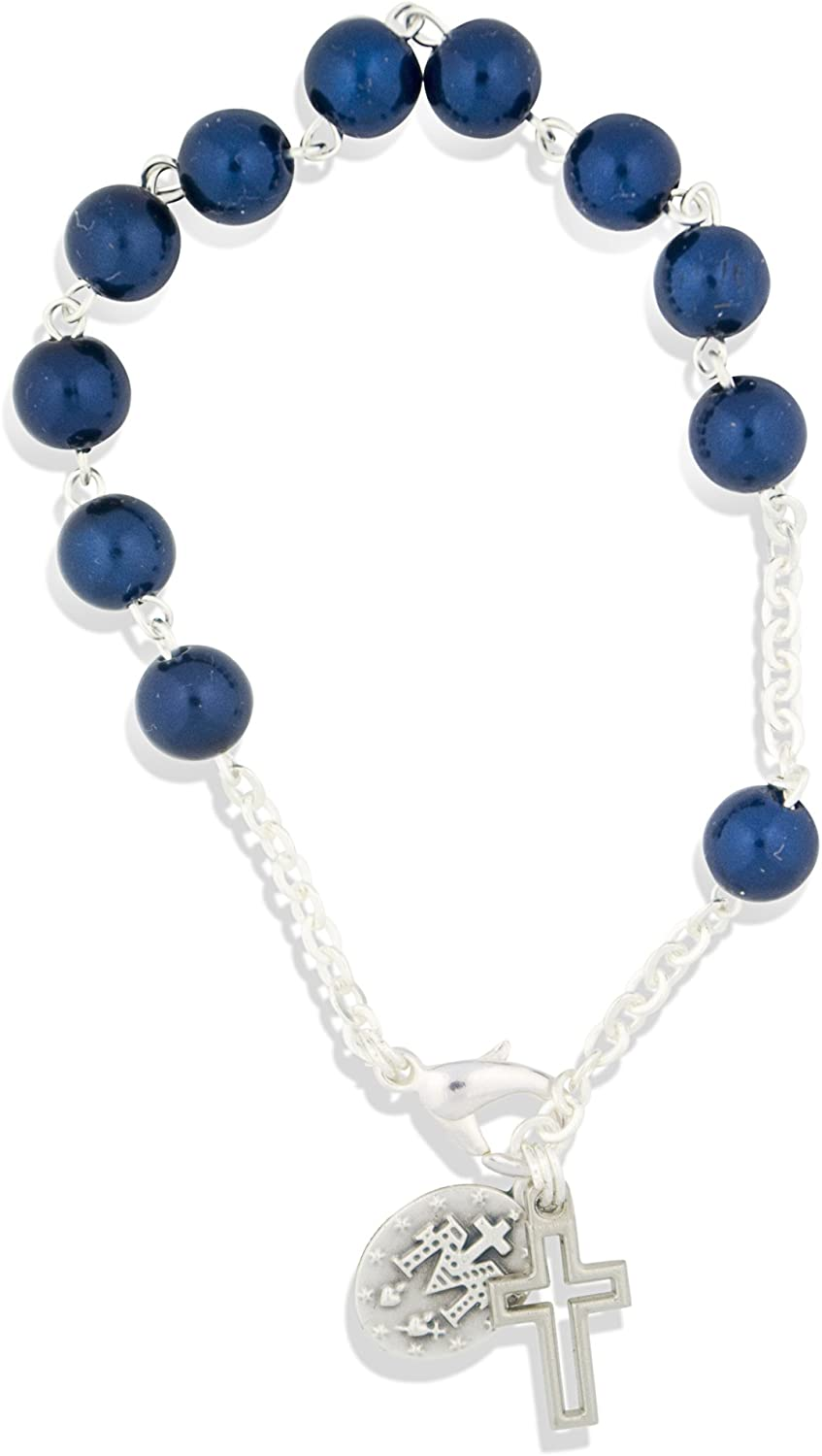Vatican Imports New popularity Minneapolis Mall Colorful and Fun One Decade Bracelet - 12 Rosary