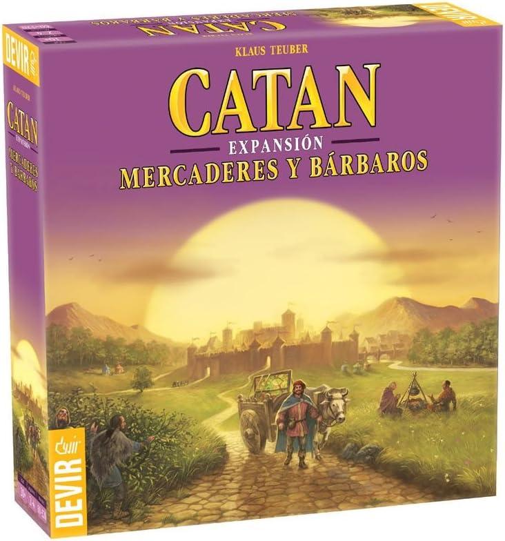 Devir - Catan Expansión Mercaderes y Bárbaros, juego de mesa