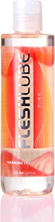 Fleshlight Fleshlube Fire | Large 8 Ounce Lube | Heating and Warming Effects