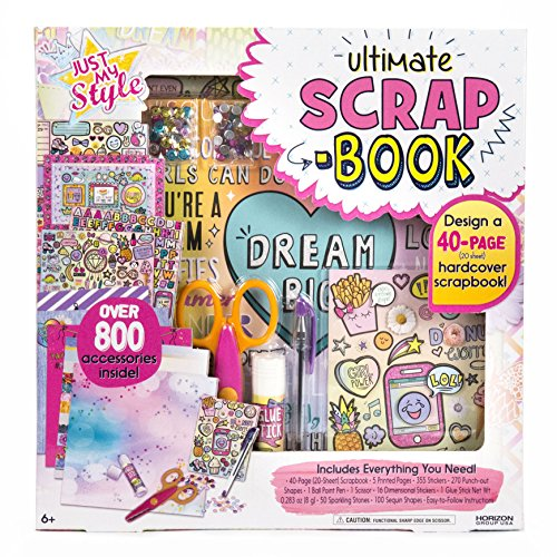 Just My Style Ultimate Scrapbook by Horizon Group USA,Personalize & Decorate...