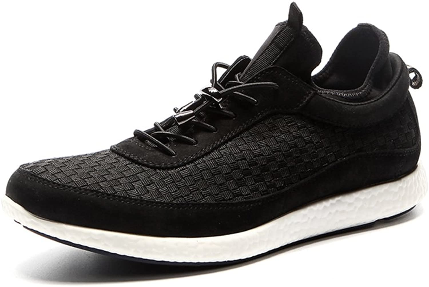 WLJSLLZYQ Fashion Casual Men's shoes Lightweight Breathable shoes Outdoor Leisure shoes