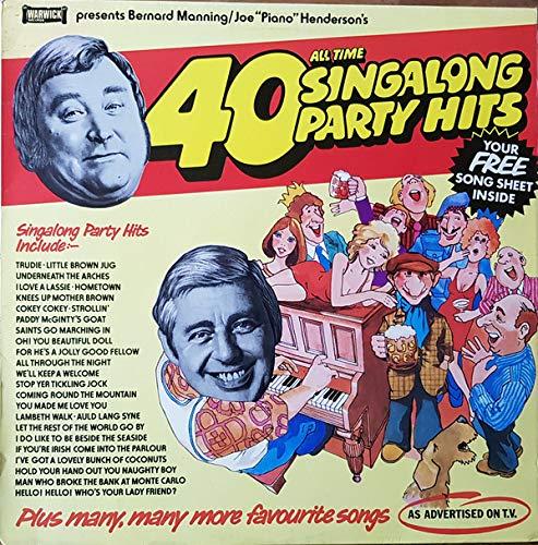 40 All Time Singalong Party Hits - Bernard Manning & Joe