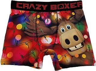 Mens Double Cheeseburger Foodie Novelty Underwear Boxer Briefs