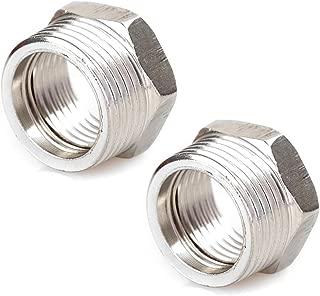 Joywayus Stainless Steel Hex Head Bushing Reducer Pipe Fitting 3/4