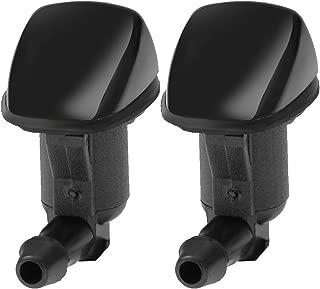 Front Windshield Washer Nozzle Kit Wiper Sprayer Jet for 2007-2009 Saturn Aura 2005-2010 Pontiac G6 2008-2012 Chevy Malibu (2-Pack)