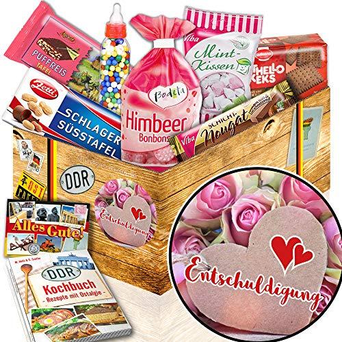 Entschuldigung ++ Verzeihung Geschenk ++ Süßigkeiten DDR