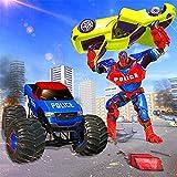 Incredible Police Monster Robot Hero Crime City