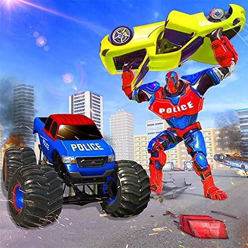 Incrível Monster Robot Hero Crime City
