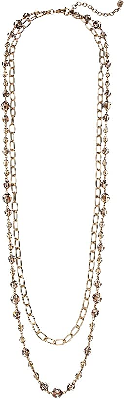 Smokey Quartz 2-in-1 Strand Necklace
