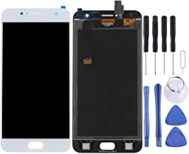 ZHANGTAI Sparts Parts LCD Screen and Digitizer Full Assembly for Asus ZenFone 4 Selfie / ZB553KL (Black) Repair Flex Cable (Color : White)